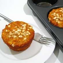 Ginger Pear and Almond Muffins