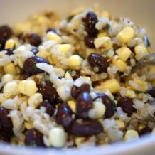 Quinoa, Corn and Black Bean Salad